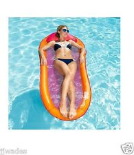 NEW SWIMWAYS SPRING FLOAT 250 LB CAPACITY W/ CARRYING BAG **COLORS VARY**