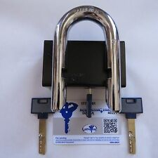 "MUL-T-LOCK INTERACTIVE+ GIANT C 16 C-Series high security padlock 16mm 5/8"" HUGE"
