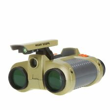4 x 30mm Night Vision Surveillance Scope Binoculars with Pop-up Light USA