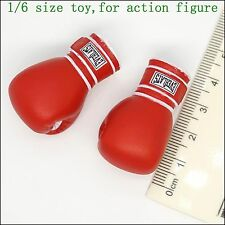 L40-11 1/6 scale ZCWO Red boxing gloves