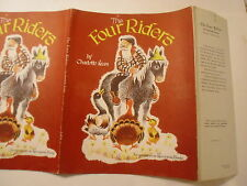 The Four Riders, Charlotte Krum, Katherine Evans, Dust Jacket Only
