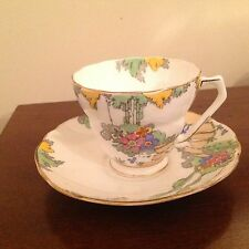 IDYLL Radfords Senic Garden Stepping stone bone china Tea Cup & Saucer England