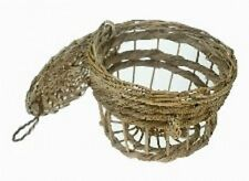Wicker Lobster Pot 23cm 9 inches Decorative Shabby Nautical Home Accessory