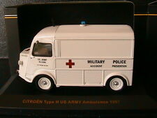 CITROEN TYPE H US ARMY AMBULANCE POLICE PREVENTION 1967 IXO CLC211 1/43 TOLE