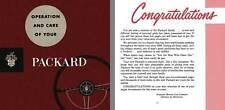 Packard 1953 - Packard Owners Manual - Operation and Care of Your Packard