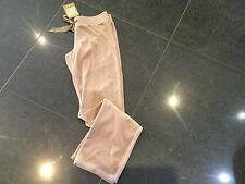 NWT Juicy Couture New & Genuine Ladies Size Small Beige Velour Pants UK 8/10