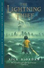 Percy Jackson and the Olympians: The Lightning Thief 1 by Rick Riordan (2006,...