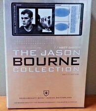 The Jason Bourne Collection : 3 Film Set + Bonus Disc   LIKE NEW