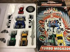 Power Rangers turbo megazord + box 100% complete Very rare toy
