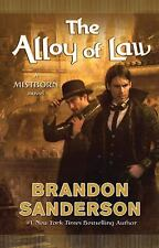 Mistborn: The Alloy of Law 4 by Brandon Sanderson (2011, Hardcover)