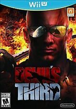 Wii U Devil's Third Game (BRAND NEW FACTORY SEALED) Nintendo WiiU