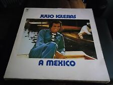 33 TOURS / LP--JULIO IGLESIAS--A MEXICO--1978