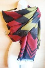 WARM WINTER Shawl Wave Pattern Ladies Womens Fashion Festive Gift Scarf/Wrap