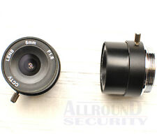 Standard Fixed Iris CCTV Objektiv C/CS-mount 6,0mm für Box Kamera
