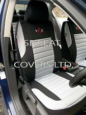 i - TO FIT A NISSAN NAVARA CAR, SEAT COVERS, GREY VRX FULL SET