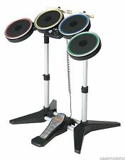 GENUINE Nintendo Wii-U ROCK BAND 2 3 Wireless Drum Set drums CYMBAL COMPATIBLE