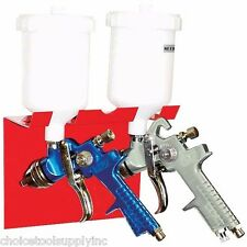 Dual Magnetic Gravity Feed Spray Gun Holder for Shop or Spray Booth Wall