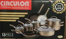 Circulon Premier Professional Hard Anodized 13 Piece Non Stick Pan, Cookware Set
