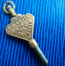 Advertising Pocket Watch Key -  C.G. Child of 68 High St. Birmingham