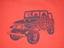 MENS LIFE IS GOOD S/S  JEEP  T--SHIRT SIZE XL