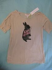 BCBG 'Zut Alors' Bunny Rabbit Top Sz S - Sweet Popular Style! Sold Out NWT
