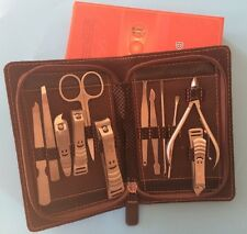 12pcs Manicure sets Pedicure Kit Nail Clipper Grooming Beauty Set luxury gift