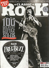 CLASSIC ROCK #229 Collector's Edit 100 GREATEST GUITAR SOLOS Tony Iommi +CD @NEW