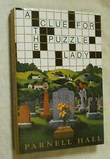A Clue for the Puzzle Lady by Parnell Hall (1999, Hardcover, Book club edition