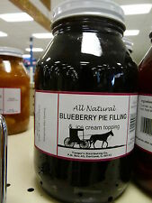 Amish of the Valley Preservatives Blueberry Pie Filling/Ice Cream Topper 32fl oz