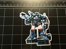 Transformers G1 Hound box art vinyl decal sticker Autobot 1980s 80s toy