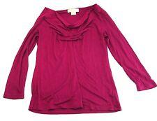 Michael Kors  Stretch Shirt Top Pull Over Slim Fit (Medium)  (O5)