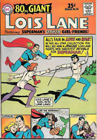 Superman's Girlfriend Lois Lane 80 Page Giant Comic Book #14, DC 1965 VERY FINE