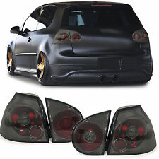 Black smoked tail lights rear lights for VW Golf 5 Limousine 03-08