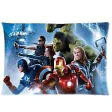 Fashion Designed Avengers Hulk Pillow Case Cover 20x30 One Side Soft Home Decor