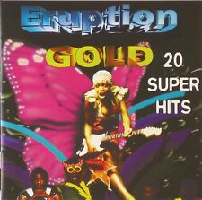 CD - Eruption - Gold - 20 Super Hits - #A1172 - RAR