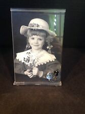 SWAROVSKI RETIRED PICTURE FRAME WITH LADYBUG 211739