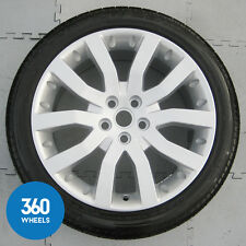 "GENUINE RANGE ROVER SPORT 20"" V SPOKE ALLOY WHEEL PIRELLI TYRE 5MM+ RRC500681MNH"