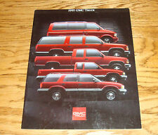 Original 1995 GMC Truck Full Line Sales Brochure 95 Jimmy Sierra Yukon Sonoma