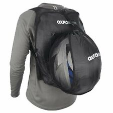 OXFORD Handy Sack Black Fold-Away Back Pack Motorcycle integral Helmet Bag OL860