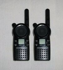 2 MINT Motorola CLS1110 UHF Business 2-Way Radios Walkie Talkie 1 Watt 1 Channel