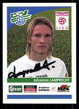 Johannes Lamprecht DSV Leoben Autogrammkarte Original Signiert + 88018 +A 77052