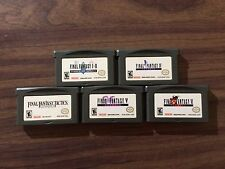 Final Fantasy I & II: Dawn of Souls + IV +V +VI +Tactics (Game Boy Advance, GBA)