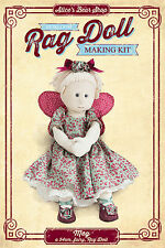 Heirloom Rag Doll Kit - Meg with Fairy Outfit