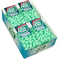 X36 Containers Green Tic Tac Wintergreen Big Pack Candy Mints 1 oz dispenser ea