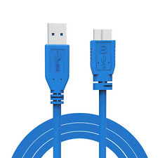 1m 3ft USB 3.0 Male Type A to Micro B Plug Cable Adapter Converter Super-Speed