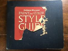 1941 Sherwin-Williams Paint and Color Style Guide Retro Mid-Century Decorating
