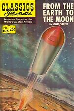 Classics Illustrated #105 - From the Earth to the Moon - HRN 169 - Spring 1971