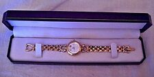 Black Hills Gold Ladies Watch ~ Swivel Bracelet Band ~ Diamond Qtz     EXCELLENT