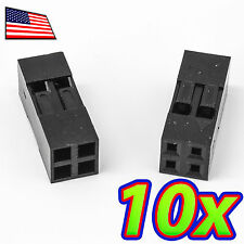 [10x] Dupont  Wire Jumper Pin Header Connector Housing - 2x2 - Male / Female