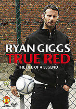 NEW DVD Ryan Giggs TRUE RED Manchester Man United Football THE LIFE OF A LEGEND